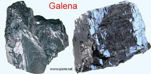Rocas, tipos de rocas  (hecho por Itzel Bernal Zepeda). Fotos-minerales-galena